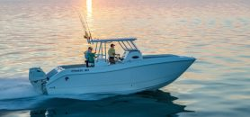 The Ideal Boat For Rough Waters: a Center Console Catamaran