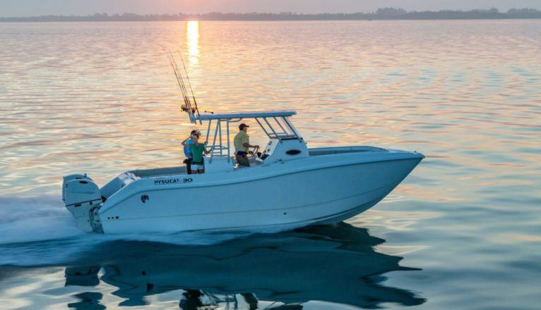 The Ideal Boat For Rough Waters: a Catamaran Center Console